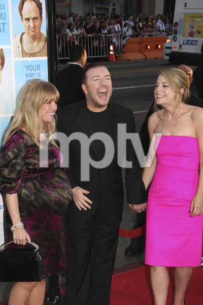 """""""The Invention of Lying"""" Premiere Ashley Jensen, Ricky Gervais9-21-2009 / Grauman"""