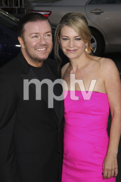 """""""The Invention of Lying"""" Premiere Ricky Gervais9-21-2009 / Grauman"""