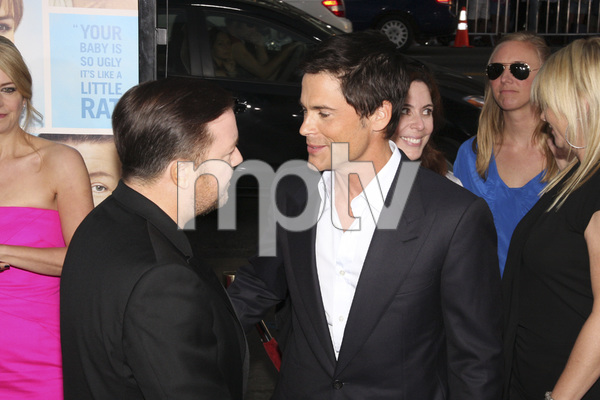 """""""The Invention of Lying"""" Premiere Ricky Gervais, Rob Lowe9-21-2009 / Grauman"""