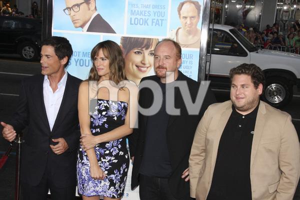"""The Invention of Lying"" Premiere Rob Lowe, Jennifer Garner, Louis C.K., Jonah Hill9-21-2009 / Grauman"