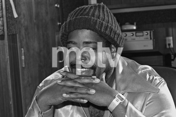 Barry White in Los Angeles recording studiocirca 1980 © 1980 Bobby Holland - Image 23798_0005