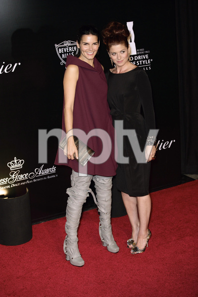 Rodeo Drive Walk of Style AwardDebra Messing and Angie Harmon10-22-2009 / Rodeo Drive / Beverly Hills, CA / Photo by Benny Haddad - Image 23800_0028