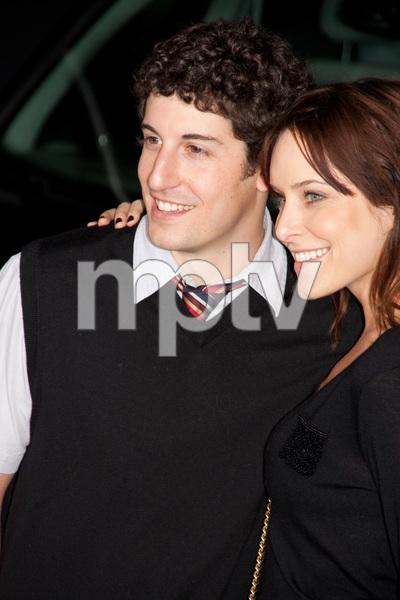 """""""2012"""" PremiereJason Biggs and Jenny Mollen11-3-2009 / Regal Cinemas LA Live / Los Angeles CA / Columbia Pictures / Photo by Joelle Leder - Image 23808_0070"""