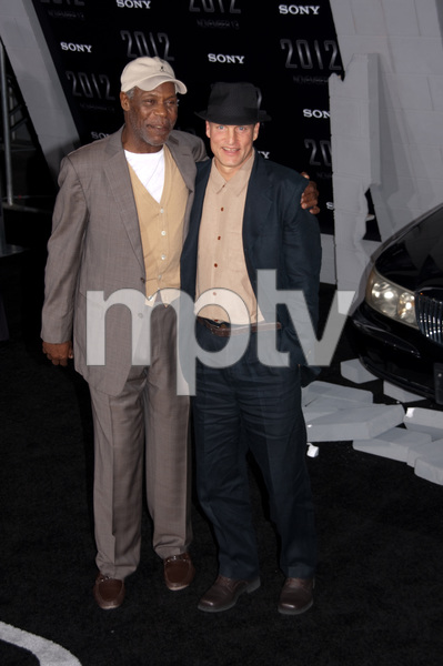 """2012"" PremiereDanny Glover and Woody Harrelson11-3-2009 / Regal Cinemas LA Live / Los Angeles CA / Columbia Pictures / Photo by Joelle Leder - Image 23808_0086"