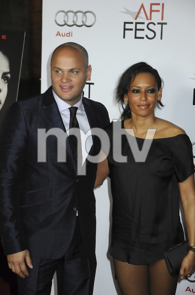 """The Road"" PremiereStephen Belafonte and Melanie Brown11-4-2009 / Grauman"