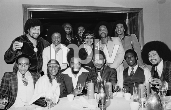 Norman Whitfield and Rose Royce in Los Angeles 1978 © 1978 Bobby Holland - Image 23832_0004