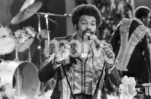 Kenny Copeland of Rose Royce during the making of a music video in Los Angeles 1978 © 1978 Bobby Holland - Image 23832_0019