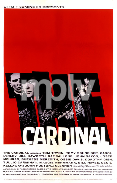 """The Cardinal"" (Saul Bass Poster)1963 Columbia Pictures** T.N.C. - Image 23838_0012"