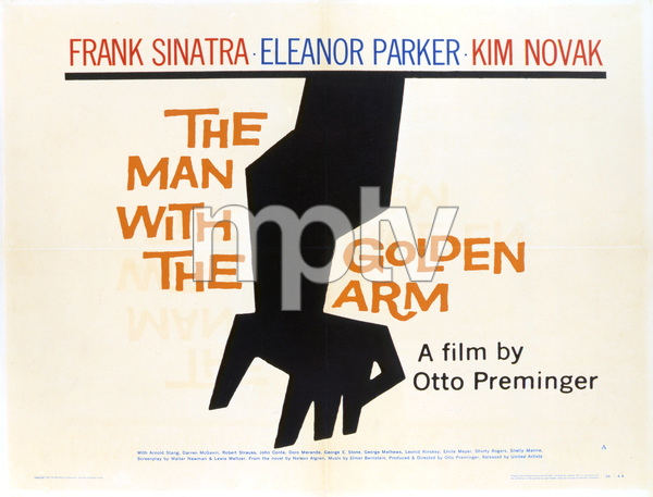 """""""The Man with the Golden Arm"""" (Saul Bass Poster)1955 United Artists** T.N.C. - Image 23838_0020"""