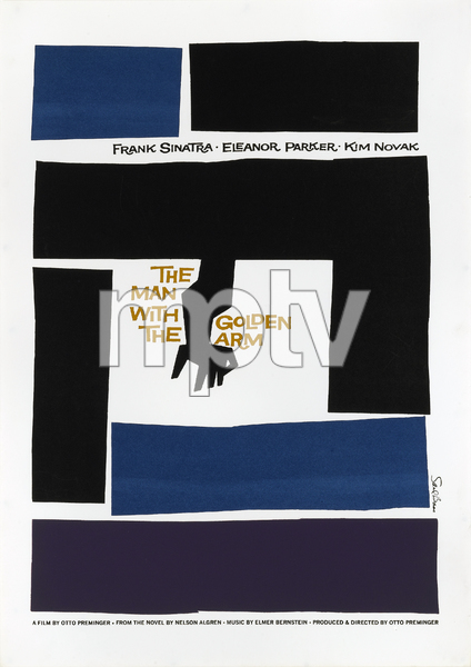 """""""The Man with the Golden Arm"""" (Saul Bass Poster)1955 United Artists** T.N.C. - Image 23838_0021"""