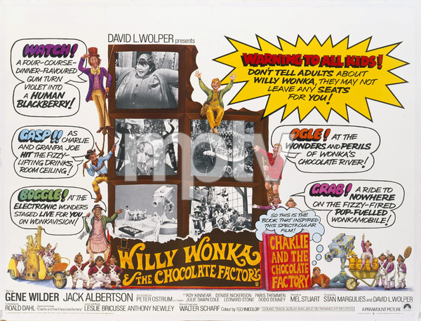"""""""Willy Wonka & the Chocolate Factory""""1971** T.N.C. - Image 23838_0030"""