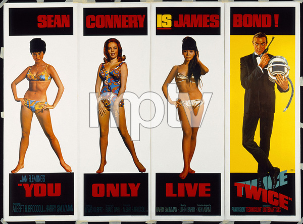 """""""You Only Live Twice"""" (Poster)1967** T.N.C. - Image 23838_0045"""