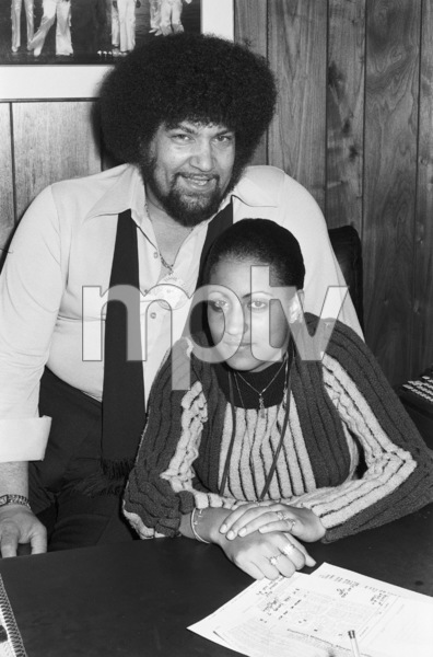 Norman Whitfield and his niece Karen Brown at Fort Knox Recording Studios1979 © 1979 Bobby Holland - Image 23841_0007