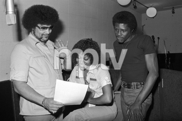 Norman Whitfield with members of The Undisputed Truth at Fort Knox Recording Studios 1979 © 1979 Bobby Holland - Image 23841_0012