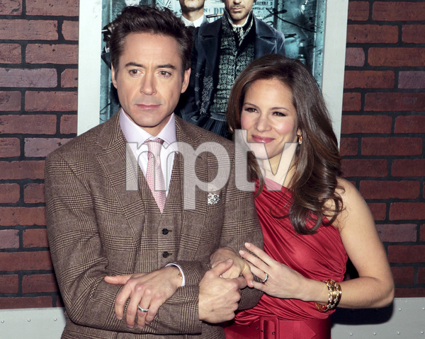 """Sherlock Holmes"" PremiereRobert Downey Jr. and Susan Downey12-17-2009 / Lincoln Center Starr Theater / New York, NY / Warner Brothers / Photo by Cecelia Post - Image 23847_0042"
