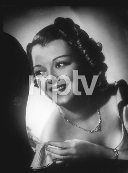 Janet Gaynor, circa 1937. © 1978 Ted AllanMPTV - Image 2385_0016