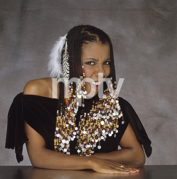 """Patrice Rushen during the album cover photo session for """"Straight from the Heart"""" 1982 © 1982 Bobby Holland - Image 23854_0037"""