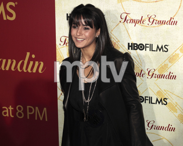 """Temple Grandin"" PremiereEmmanuelle Chriqui1-26-2010 / Time Warner Center / New York NY / HBO Films / Photo by Cecelia Post - Image 23870_0003"