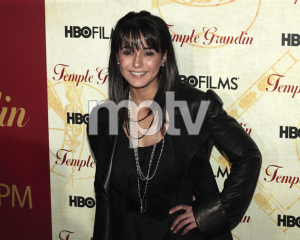 """Temple Grandin"" PremiereEmmanuelle Chriqui1-26-2010 / Time Warner Center / New York NY / HBO Films / Photo by Cecelia Post - Image 23870_0006"