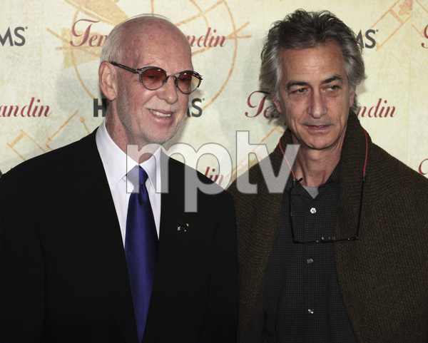 """""""Temple Grandin"""" PremiereDavid Strathairn and Mick Jackson1-26-2010 / Time Warner Center / New York NY / HBO Films / Photo by Cecelia Post - Image 23870_0029"""
