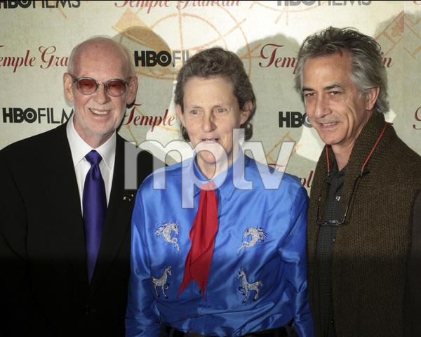 """Temple Grandin"" PremiereDavid Strathairn, Temple Grandin, Mick Jackson1-26-2010 / Time Warner Center / New York NY / HBO Films / Photo by Cecelia Post - Image 23870_0032"