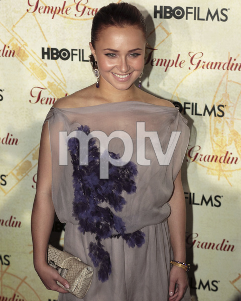"""""""Temple Grandin"""" PremiereHayden Panettiere1-26-2010 / Time Warner Center / New York NY / HBO Films / Photo by Cecelia Post - Image 23870_0062"""