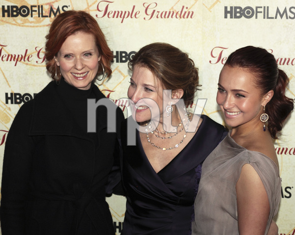 """Temple Grandin"" PremiereCynthia Nixon, Emily Gerson Saines, Hayden Panettiere1-26-2010 / Time Warner Center / New York NY / HBO Films / Photo by Cecelia Post - Image 23870_0082"