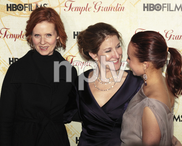 """Temple Grandin"" PremiereCynthia Nixon, Emily Gerson Saines, Hayden Panettiere1-26-2010 / Time Warner Center / New York NY / HBO Films / Photo by Cecelia Post - Image 23870_0083"