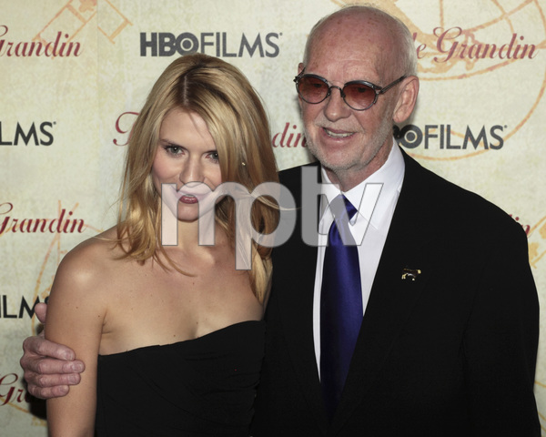 """Temple Grandin"" PremiereClaire Danes, Mick Jackson1-26-2010 / Time Warner Center / New York NY / HBO Films / Photo by Cecelia Post - Image 23870_0093"