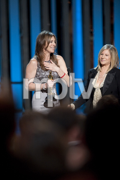"""""""The Academy Awards - 82nd Annual"""" (Telecast)Kathryn Bigelow, Barbra Streisand3-7-2010Photo by Michael Yada © 2010 A.M.P.A.S. - Image 23908_0125"""