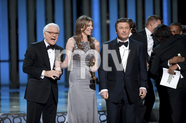 """The Academy Awards - 82nd Annual"" (Telecast)Steve Martin, Kathryn Bigelow, Alec Baldwin3-7-2010Photo by Michael Yada © 2010 A.M.P.A.S. - Image 23908_0134"