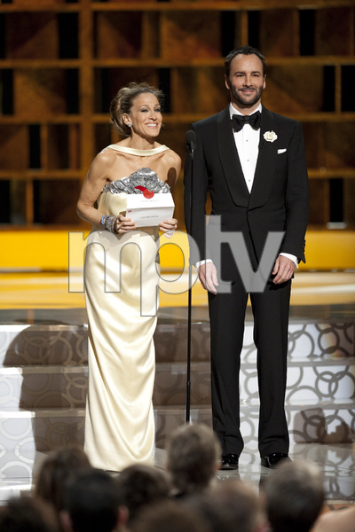 """The Academy Awards - 82nd Annual"" (Telecast)Sarah Jessica Parker, Tom Ford3-7-2010Photo by Michael Yada © 2010 A.M.P.A.S. - Image 23908_0280"