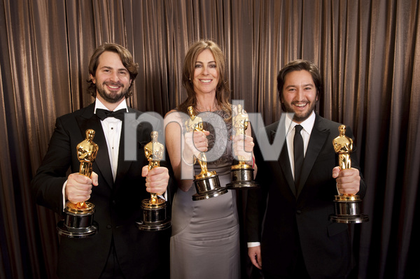 """The Academy Awards - 82nd Annual"" (Backstage)Mark Boal, Kathryn Bigelow, Greg Shapiro3-7-2010Photo by Todd Wawrychuk © 2010 A.M.P.A.S. - Image 23908_0452"