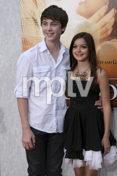 """The Last Song"" PremiereSterling Beaumon, Ariel Winter3-25-2010 / Arclight Theater / Hollywood CA / Touchstone Pictures / Photo by Heather Hixon - Image 23914_0033"