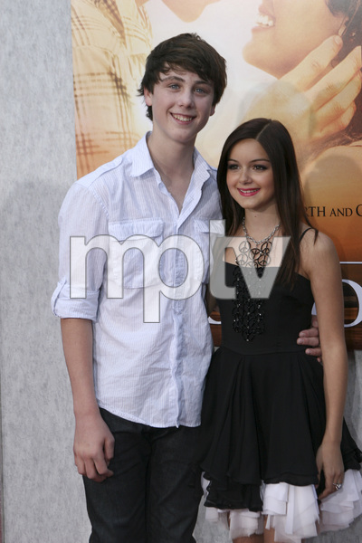 """The Last Song"" PremiereSterling Beaumon, Ariel Winter3-25-2010 / Arclight Theater / Hollywood CA / Touchstone Pictures / Photo by Heather Hixon - Image 23914_0034"