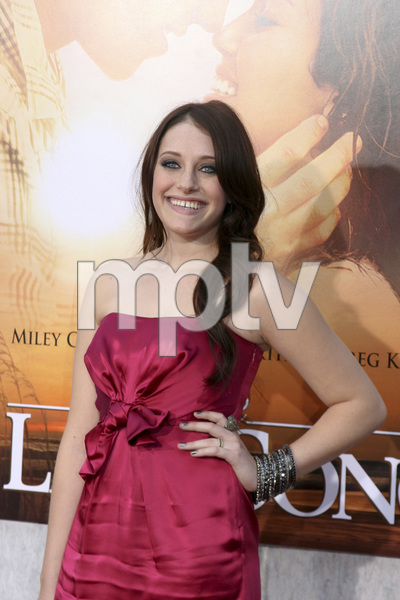 """""""The Last Song"""" PremiereCarly Chaikin3-25-2010 / Arclight Theater / Hollywood CA / Touchstone Pictures / Photo by Heather Hixon - Image 23914_0136"""