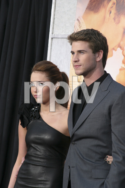"""""""The Last Song"""" PremiereMiley Cyrus, Liam Hemsworth3-25-2010 / Arclight Theater / Hollywood CA / Touchstone Pictures / Photo by Heather Hixon - Image 23914_0151"""