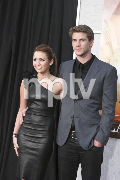 """""""The Last Song"""" PremiereMiley Cyrus, Liam Hemsworth3-25-2010 / Arclight Theater / Hollywood CA / Touchstone Pictures / Photo by Heather Hixon - Image 23914_0153"""