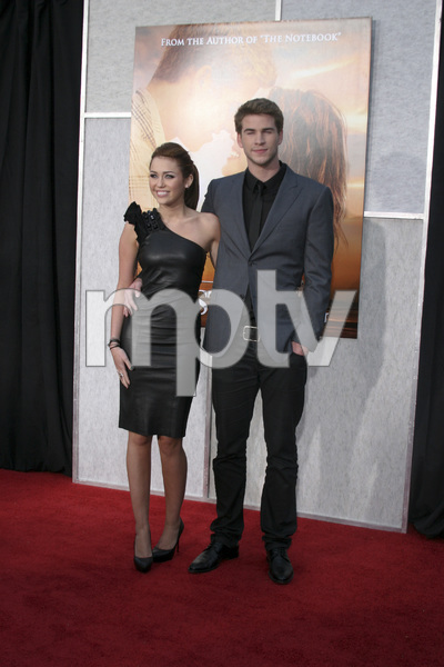 """""""The Last Song"""" PremiereMiley Cyrus, Liam Hemsworth3-25-2010 / Arclight Theater / Hollywood CA / Touchstone Pictures / Photo by Heather Hixon - Image 23914_0155"""
