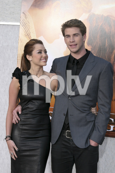 """""""The Last Song"""" PremiereMiley Cyrus, Liam Hemsworth3-25-2010 / Arclight Theater / Hollywood CA / Touchstone Pictures / Photo by Heather Hixon - Image 23914_0159"""