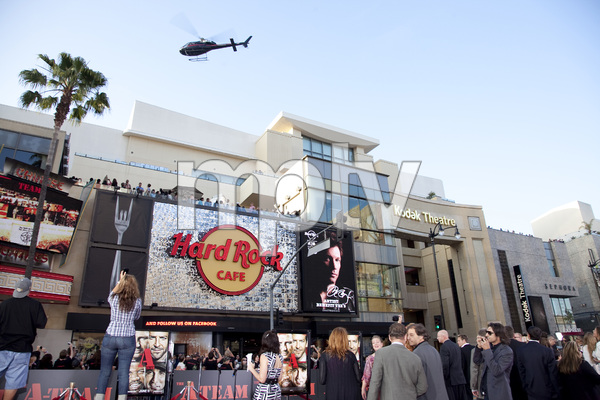 """The A-Team"" (Premiere)Helicopter6-3-2010 / Grauman"