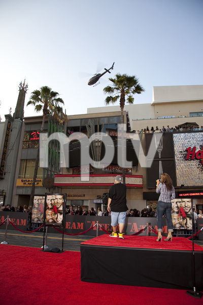 """""""The A-Team"""" (Premiere)Helicopter6-3-2010 / Grauman"""