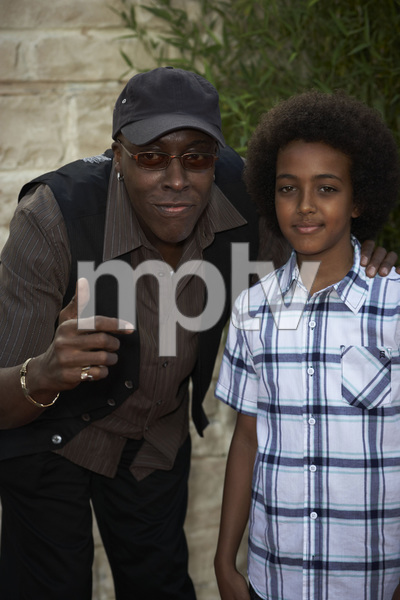 """The Karate Kid"" (Premiere)Arsenio Hall and son Arsenio Hall Jr.6-7-2010 / Mann"