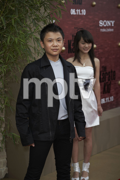 """The Karate Kid"" (Premiere)Zhenwei Wang and Wenwen Han6-7-2010 / Mann"