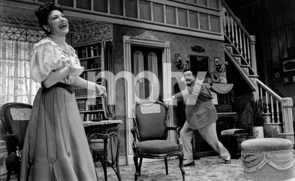 """Jackie Gleason in the Broadway musical """"Take Me Along""""11/2/59 © 2001 Mark Shaw - Image 2397_0039"""
