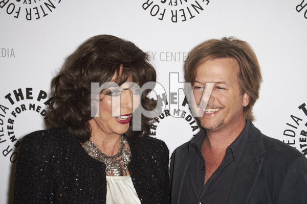 """Rules of Engagement Panel at The Paley Center"" Joan Collins and David Spade11-4-2010 / The Paley Center for Media / Beverly Hills CA / Photo by Benny Haddad - Image 23988_0138"