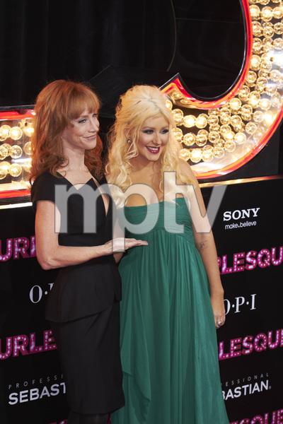 """Burlesque"" PremiereKathy Griffin, Christina Aguilera11-15-2010 / Grauman"
