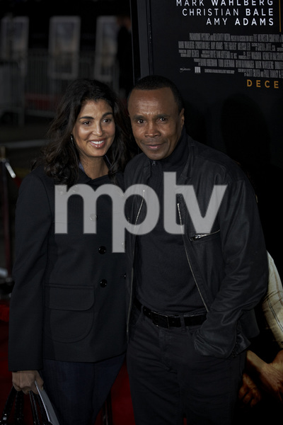 """The Fighter"" PremiereBernadette Robi , Sugar Ray Leonard12-6-2010 / Grauman"