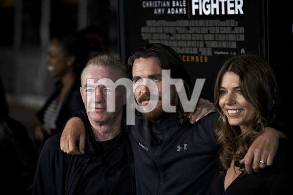 """The Fighter"" PremiereDicky Eklund, Christian Bale, Sibi Blazic12-6-2010 / Grauman"