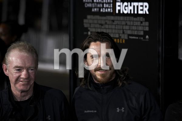 """""""The Fighter"""" PremiereDicky Eklund, Christian Bale12-6-2010 / Grauman"""